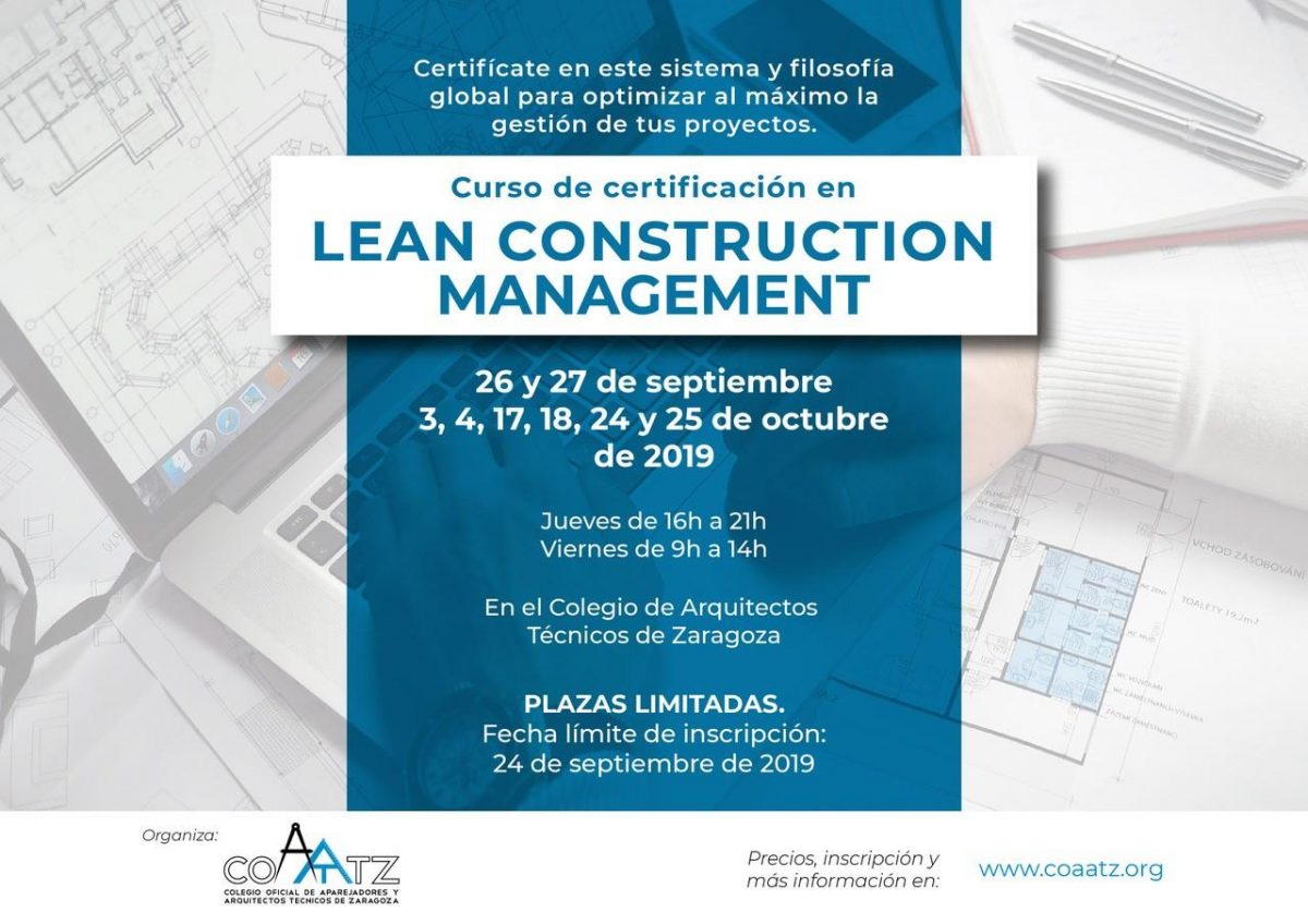 Certificación Lean Construction Management