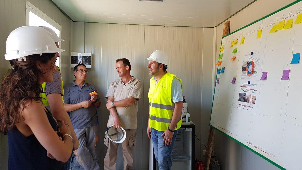 LEAN CONSTRUCTION  1ª Pull Session · Last Planner System · Vivienda Autosuficiente San Mateo de Gállego
