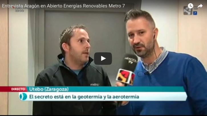 Entrevista Aragón en Abierto Energías Renovables Metro7