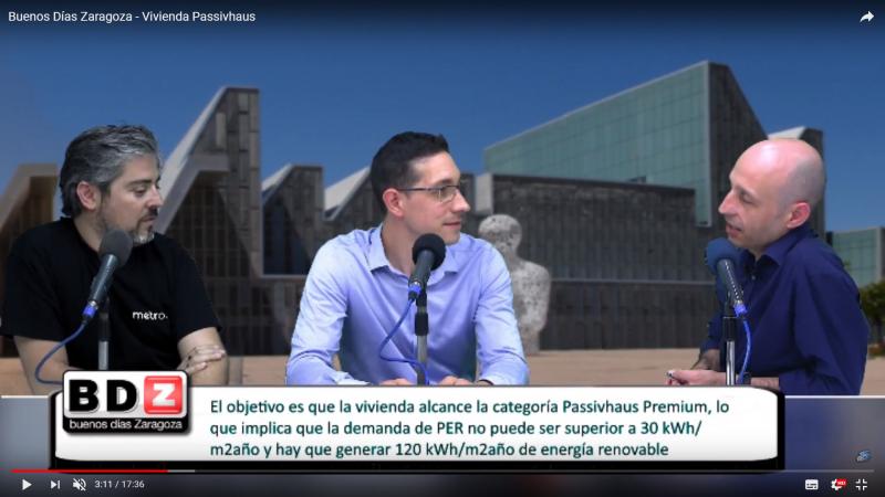 EBROFM nos abre su canal de difusión para hablar de lo nuestro…. el passivhaus!