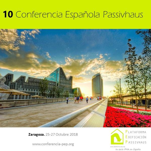 10ª CONFERENCIA ESPAÑOLA PASSIVHAUS