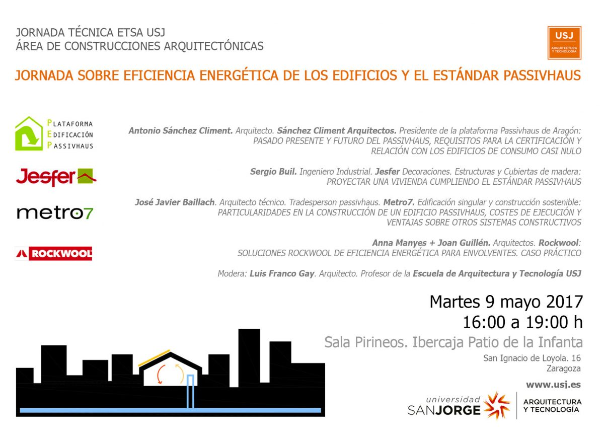Jornada técnica ETSA USJ área de construcciones arquitectónicas