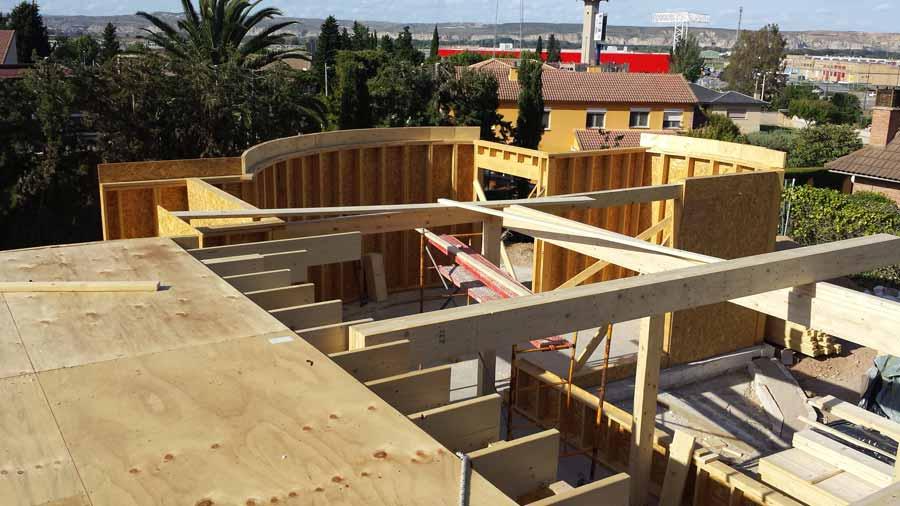 El milagro de las casas de madera